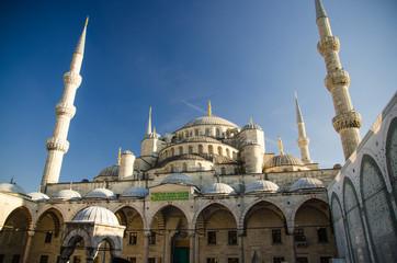 Sultan Ahmet Camii named Blue Mosque, Istanbul, Turkey