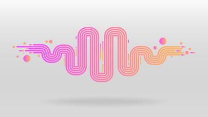 sound wave equalizer elements