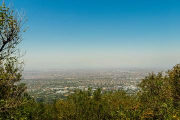 Claremont, Kapstadt, Südafrika, Sicht vom Tafelberg