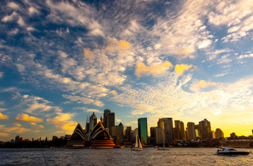 Sydney City at Sunset