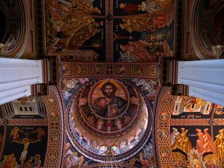 Greek Orthodox Church roof decoration