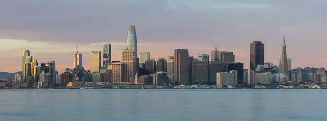 City of San Francisco Skyline at Daybreak