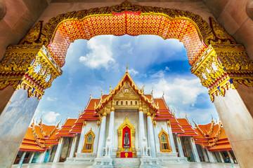 Wat Benchamabopit Dusitvanaram, Bangkok, Thailand, The marble temple