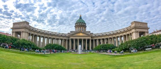 Kazan (Kazansky) Cathedral on Nevsky prospect, St. Petersburg, Russia