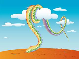 Rainbow Snake Wanambi