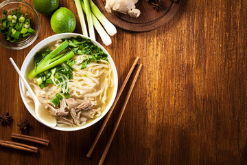 Pho Ga - chicken noodle soup