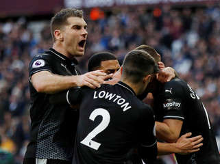 Premier League - West Ham United v Burnley