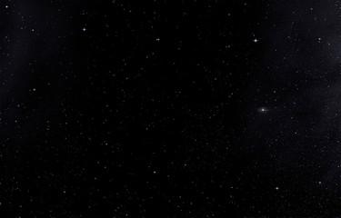 Свет звезд на фоне темного неба.