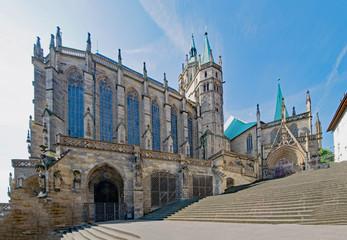 Erfurter Dom, Erfurt, Thüringen, Deutschland  Fototapete