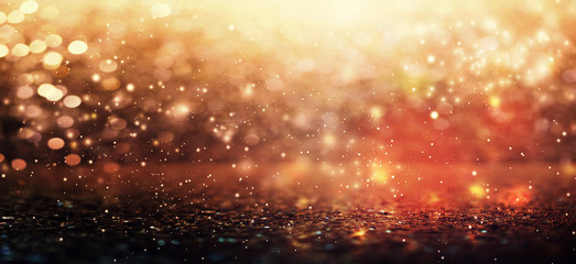 Colorful abstract shiny light and glitter background