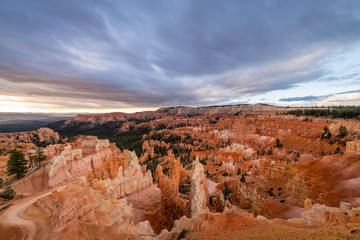 Wall Mural - Bryce Canyon National Park at Dawn from Inspiration Point