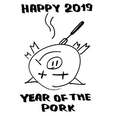 Happy 2019 year of the pork