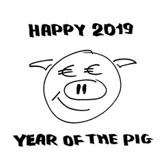 Happy 2019 year of the pig