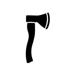 Axe icon, silhouette, logo - for stock