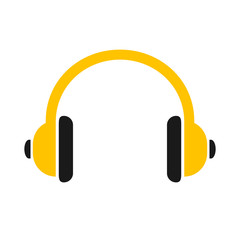 Headphone icon sign – vector for stock