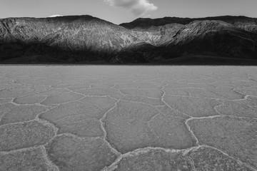 Death Valley landscape at sunset