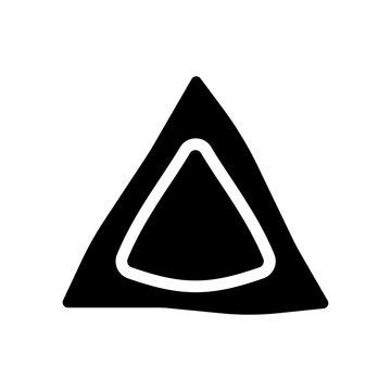 Hamantaschen icon. Trendy Hamantaschen logo concept on white background from Religion collection