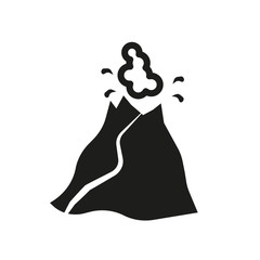 Volcano icon. Trendy Volcano logo concept on white background from Weather collection