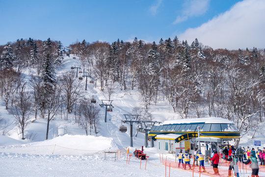 北海道のスキー場 / 北海道札幌市の観光イメージ