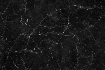 The luxury of black marble texture and background for design pattern art work. Marble with high resolution
