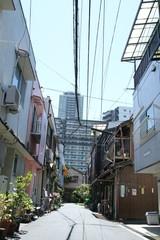 大阪・中崎町の風景