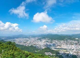 Wall Mural - 都市風景 長崎市 稲佐山からの眺望