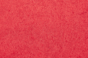 Red Christmas background texture of felt fabric wallpaper