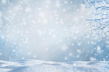 winterzeit hintergrund