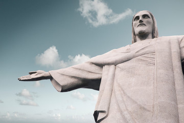 Christ the Redeemer (Cristo Redentor) statue in Rio de Janeiro, Brazil