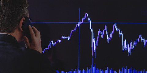 A black day on the stock exchange