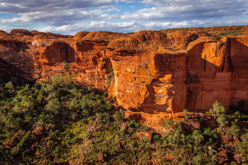 Rock formations in Kings Canyon, Northern Territory, Australia