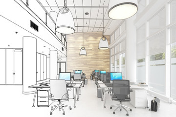 Modern Office Conception 01 (draft)