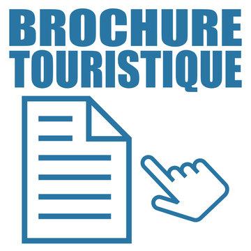 Logo brochure touristique.