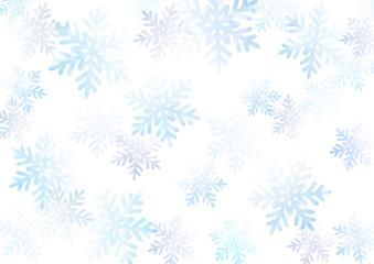 水彩風雪の結晶背景