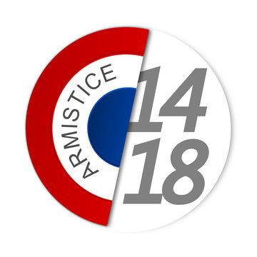 1914-1918 centenaire de la grande guerre - armistice