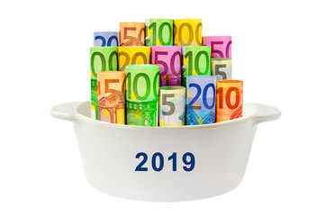 2019, Geld, Budget
