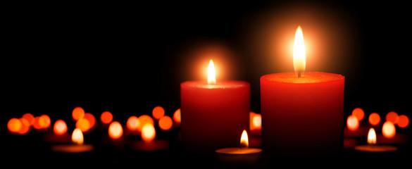 Advent Kerzen, zweiter Advent