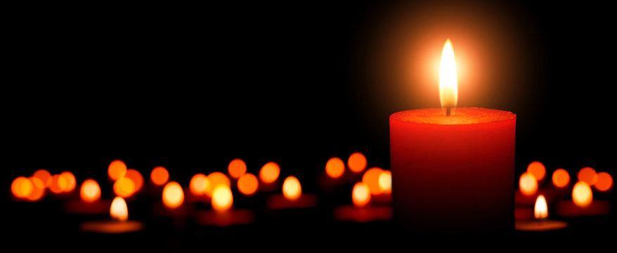 Advent Kerzen, erster Advent
