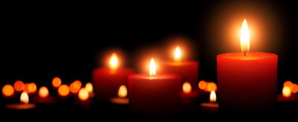 Advent Kerzen, vierter Advent