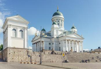 Dom von Helsinki am Senatsplatz