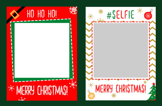 Photo booth props frame for christmas party Merry christmas