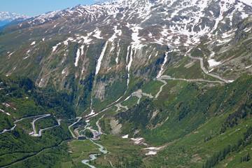 Wall Mural - Swiss alps