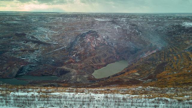 large coal mine