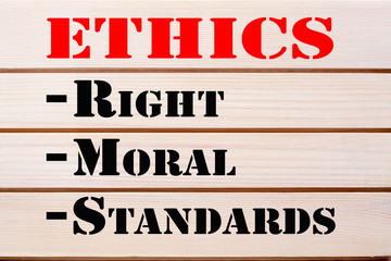 Ethics Right Moral Standards