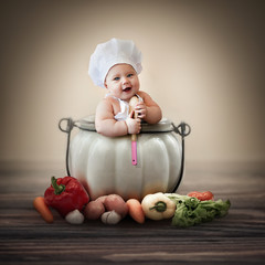 little baby chef
