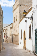 Presicce, Apulia - Walking through an old alleyway in Presicce