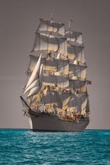 Türaufkleber Schiff Sailing Ship Statsraad Lehmkuhl