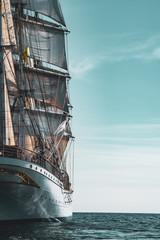 In de dag Schip Sailing Ship Statsraad Lehmkuhl