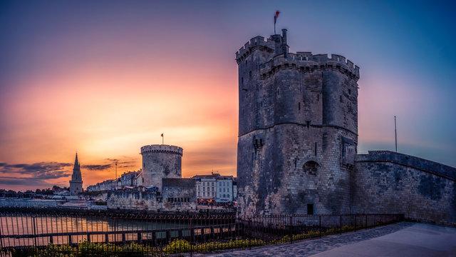 La Rochelle 3 tours magenta