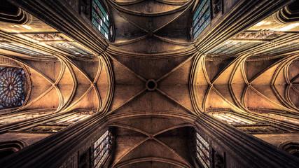 Cathédrale Saint-Étienne de Limoges plafond